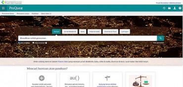 Layanan Akses Gratis Journal ProQuest