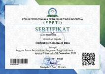 Perpustakan Terpadu Poltekkes Kemenkes Riau Tergabung di Organisasi FPPTI
